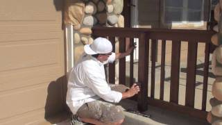 Exterior Painting: Priming And Scraping Wood