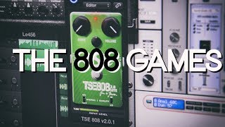 The 808 Games | Maxon OD808 Overdrive vs Simulations