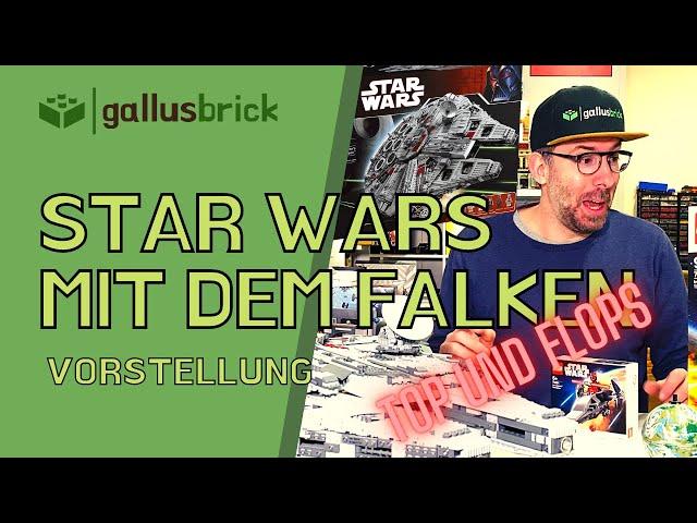 LEGO Star Wars Special | Meine Top und Flops | inkl. UCS Millennium Falcon 10179 Nachbau