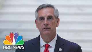 Georgia Secretary Of State: Recount 'Going As Planned,' Is 'Transparent' | NBC News NOW