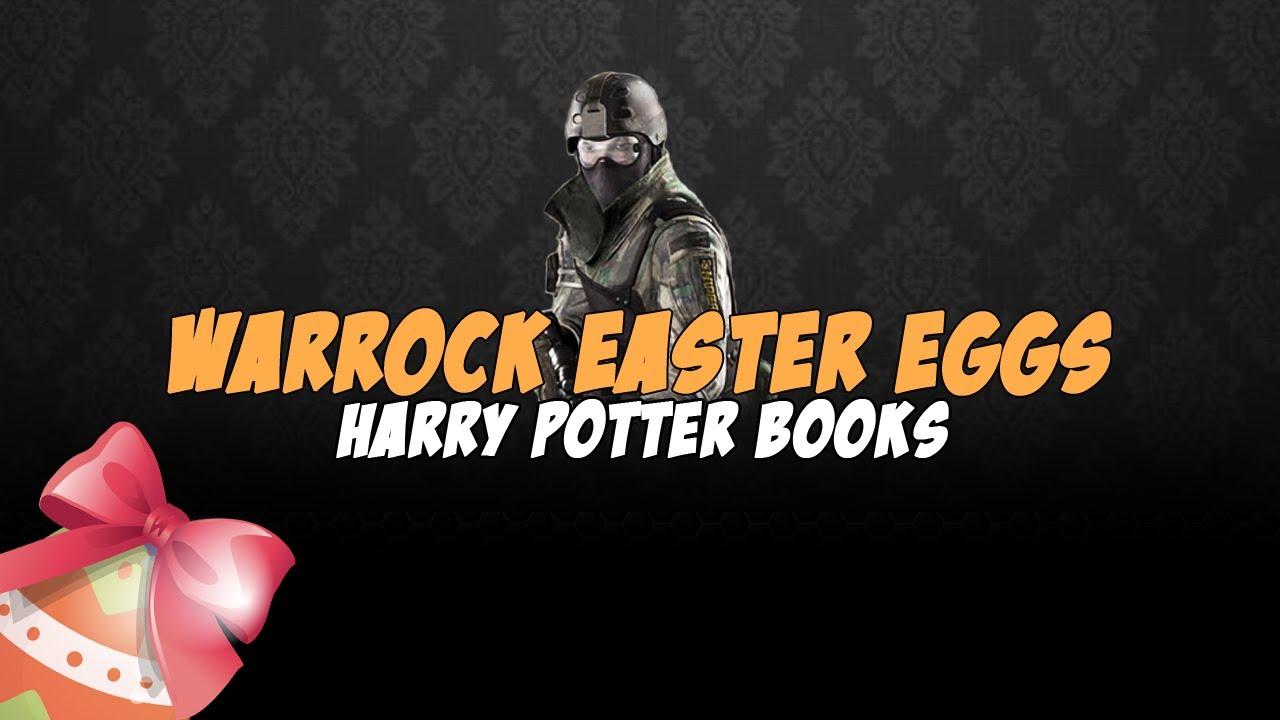 Harry Potter Book Easter Eggs : Warrock easter eggs harry potter books youtube