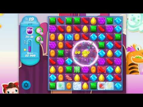 Candy Crush Soda Saga Level 415 No Boosters