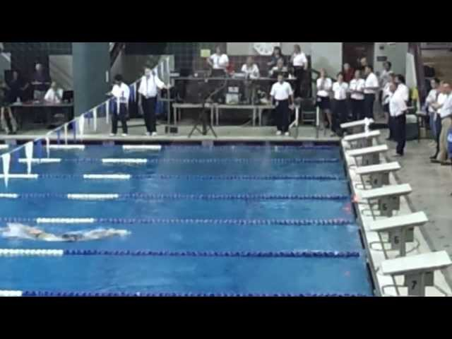 Katie Ledecky resets National High School Record in 500 Free at Metros 2013
