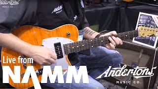 Reverend 20th Anniversary at  NAMM 2017
