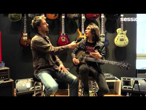 Interview with Mark Holcomb of Periphery at session Frankfurt