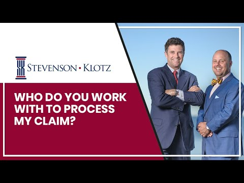 Who Do You Work With To Process My Claim?