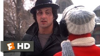 Rocky II (1/12) Movie CLIP - Rocky Proposes to Adrian (1979) HD