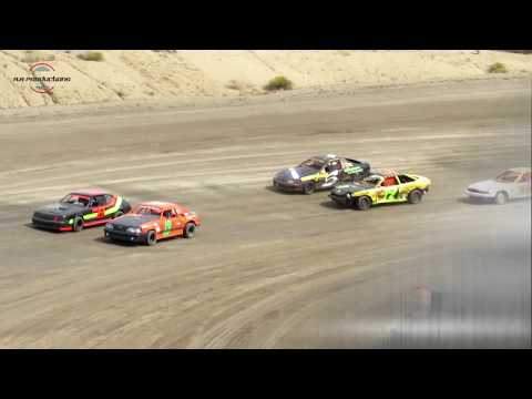 Desert Thunder Raceway Mini Stock Heat Race 9/29/18-Day Race