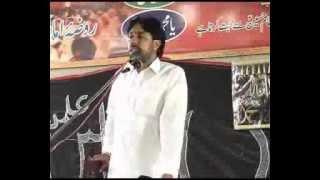 Zakir Taqi Abbas Qayamat 17 May 2014 Shahadat Ghazi Abbas as Kot Lahri Sargodha