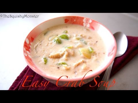 Easy Crab Soup Recipe