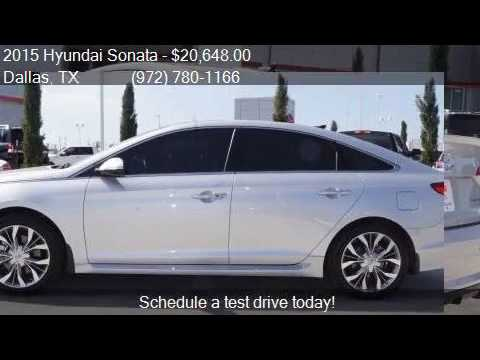 2015 Hyundai Sonata Limited 2.0T 4dr Sedan for sale in Dalla