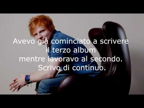 Le più belle frasi di Ed Sheeran