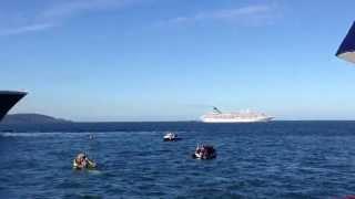 Queen Mary 2 Blows Foghorn YouTube Thumbnail
