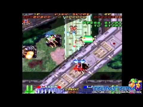DreamStream: Galatic Attack AKA Layer Section (Sega Saturn Gameplay)