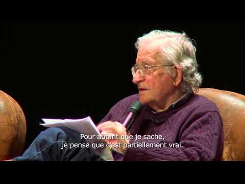 Noam Chomsky // Université Libre de Bruxelles // Théâtre National