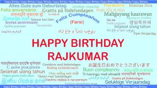 Rajkumar   Languages Idiomas - Happy Birthday
