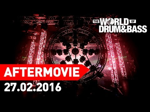 27.02.2016 WORLD OF DRUM&BASS @ ARENA MOSCOW (Official Aftermovie)