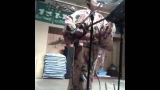華菜枝さん @北谷食堂淡路町店on 2012年5月28日.