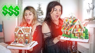 Who Can Build the Best GINGER BREAD HOUSE  ($10,000 PRIZE)