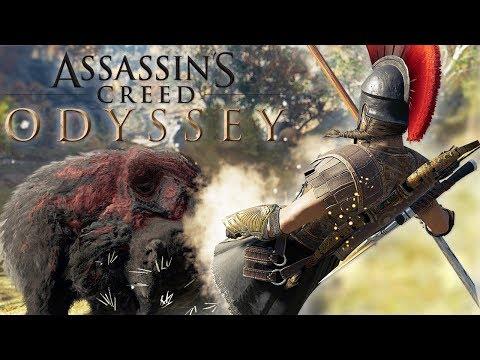 SPARTAN KICKING BEARS! Assassin's Creed Odyssey #3 thumbnail
