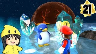"Super Mario Galaxy - Part 21: ""Winter Weather"""