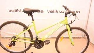 Обзор женского велосипеда Discovery Passion(Актуальную цену и наличие этого товара в магазине Veliki.com.ua вы можете проверить по этой ссылке: http://veliki.com.ua/goods..., 2016-01-27T09:36:20.000Z)