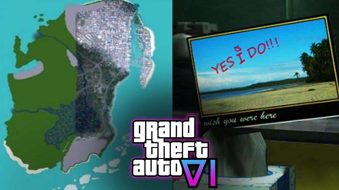 ¿NUEVA IMAGEN DE GTA 6? Analisis del Mapa de GTA 6 - GTA 6 Nuevas Filtraciones