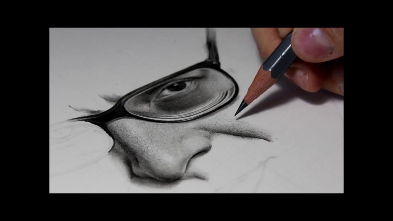 Drawing Pencil Hyperrealism - Time-lapse