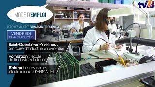 Mode d'Emploi. Les métiers de l'industrie 4.0 à Saint-Quentin-en-Yvelines