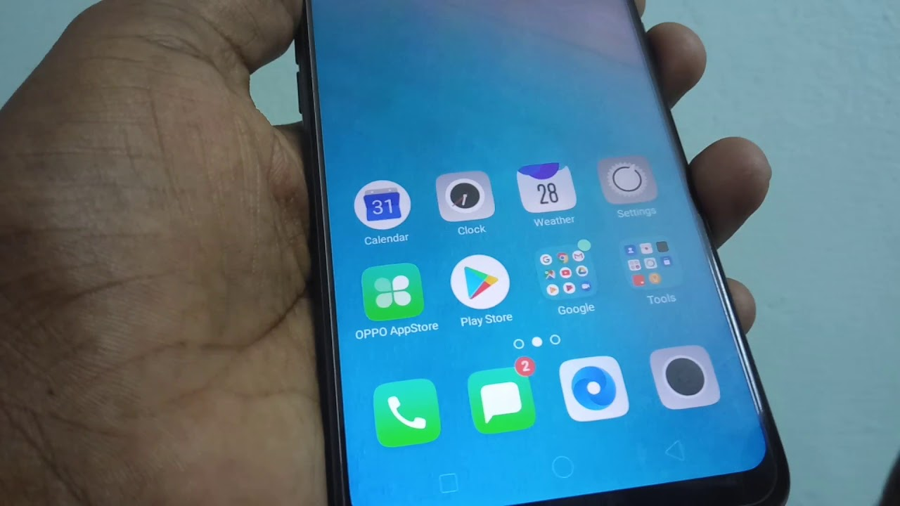 How To Set Wallpaper In Oppo A5 Youtube