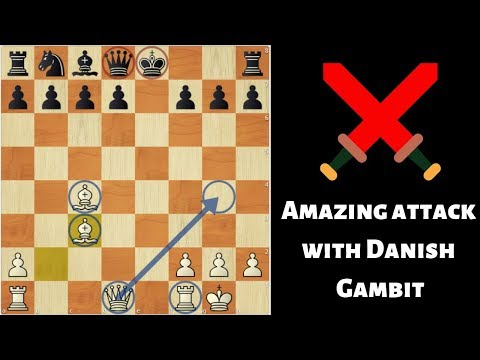 Amazing Win With Danish Gambit
