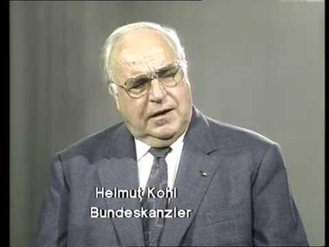 Helmut Kohl im ifp Kamera Report 1996