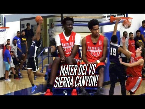 PJ Fuller VS Cassius Stanley & Scottie Pippen Jr! Mater Dei VS Sierra Canyon Was A 3 Point SHOOTOUT!