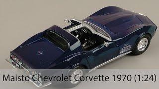 Розпакування Maisto Chevrolet Corvette 1970 (1:24)