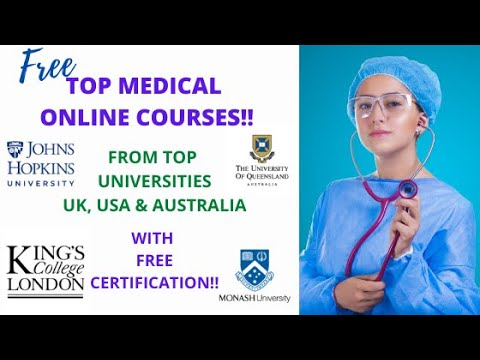 Free Medical Online Courses with Free Certification   ABCS