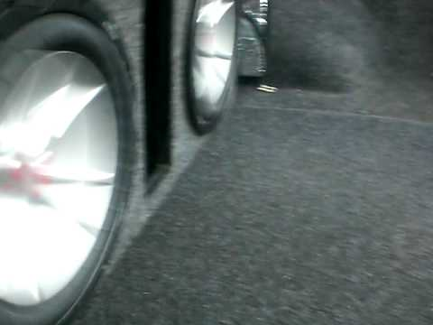My car music system two 10 kickers