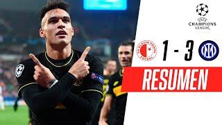 Slavia Praga - Inter [1-3] | GOLES | Grupo F | UEFA Champions League