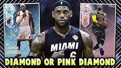 c9bdcaf0e NBA 2K18 MYTEAM DIAMOND LEBRON JAMES OR PINK DIAMOND!  WHICH SHOULD YOU  BUY