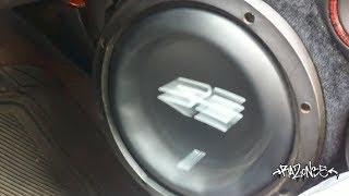 Incredible SUB EXCURSION!! Door RE Audio mid bass!