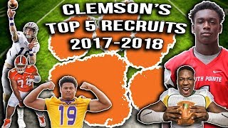Download Video Clemson National Champs 2019???- Clemson's Top 5 Recruits 2017-2018 MP3 3GP MP4