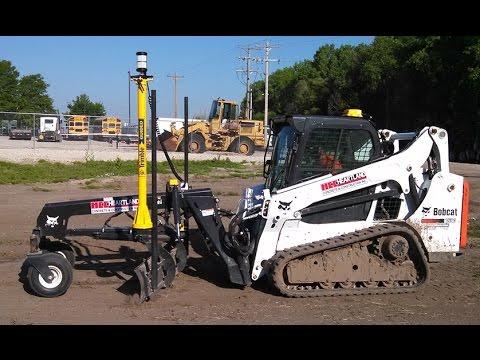 Bobcat Implemento Nivelador Trimble Sistema De