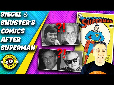 Ep.44.  What Comics Did Siegel and Shuster Work On After Creating Superman? by Alex Grand no music