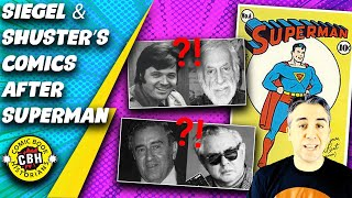 Ep.44.  What Comics Did Siegel and Shuster Work On After Creating Superman? by Alex Grand