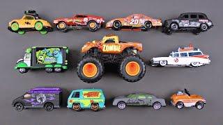 Весело Хеллоуїн іграшка автомобілі вантажівки вуличних автомобілів для дітей - моторошний гарячі колеса сірникову коробку Disney тачки
