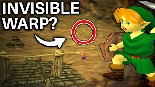 The Invisible Time Rifts in Ocarina of Time (Zelda)