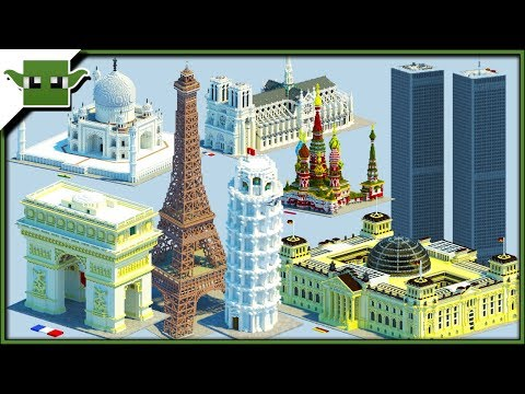 BEST MINECRAFT REALISTIC BUILDINGS! - Minecraft Inspiration Series /w Keralis