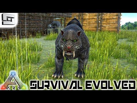 ARK: Survival Evolved - SABERTOOTH! E11 ( Gameplay )