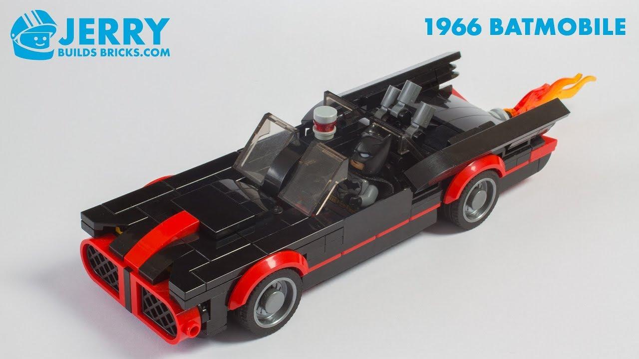 custom built lego 1966 Batmobile INSTRUCTIONS