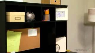 Piper Student Desk With Optional Hutch Set - Black