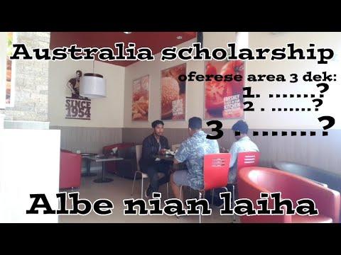 ●|teamalbe|○😭Australia scholarship yeee mbe Albe nia are laiha😭